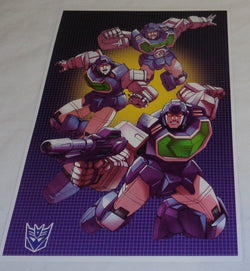 G1 Transformers Decepticon Reflector Camera Poster 11x17 Box Art Grid FREESHIP