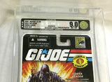 2008 SDCC Comiccon GI Joe Hooded Cobra Commander Blue Suit Podium Graded AFA 9