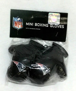 NFL New England Patriots Mini Boxing Gloves Rearview Mirror Car Truck FREESHIP