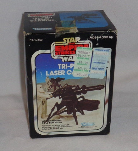 1982 Star Wars ESB Empire Strikes Back Tripod Laser Cannon Boxed SEALED