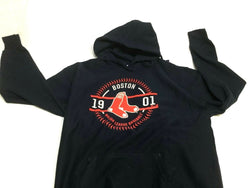NEW Boston Red Sox Est 1901 Team Hoodie Hooded Sweatshirt Mens Large FREESHIP