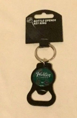 2019 Winter Classic Bottle Opener Keychain Duel Boston Bruins Chicago Blackhawks