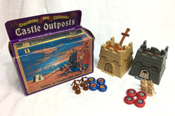 1983 Vintage Crossbows and & Catapults Castle Outposts Game Complete Boxed RARE