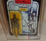 1980 Star Wars ESB Empire Strikes Back IG88 Figure 32 Back Graded AFA 70+ Sealed