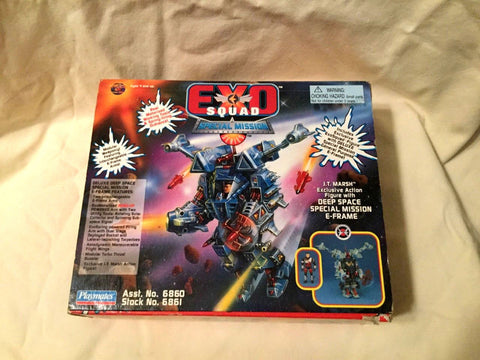 1995 Exo Squad JT Marsh Deep Space E-Frame Special Missions Series Boxed FREESHP