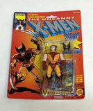1993 ToyBiz Marvel Super Heroes X-men Figure Wolverine Snap Out Claws MOC Sealed