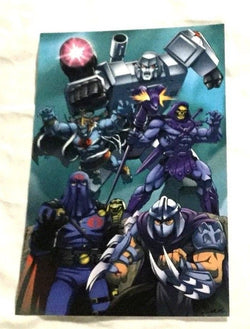 1980s Toys Iconic Villains Transformers He-Man Thundercats Cobra Poster 11x17
