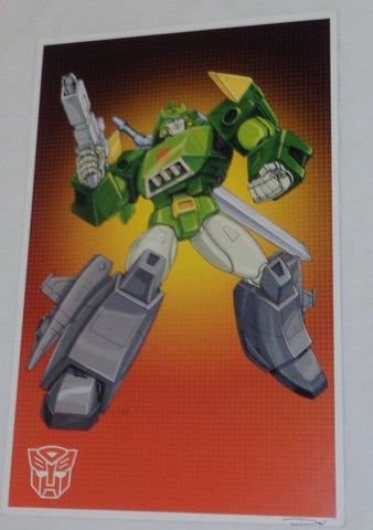 1986 G1 Transformers Autobot Springer Poster 11x17 Box Art Grid FREESHIPPING