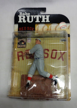 2009 Mcfarlane Boston Red Sox Babe Ruth Cooperstown Collection Figure MOC Sealed