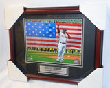 2013 Red Sox Boston Marathon David Ortiz City Framed Matted Picture 13x16 Size