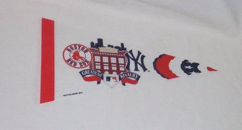 Boston Red Sox New York Yankees Duel Rivalry Fenway Park Mini Pennant FREESHIP