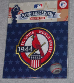 WWII MLB 1944 World Series Champions Jersey Patch St Louis Cardinals Vs Browns