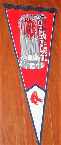 2013 World Series Champions Pennant Trophy Logo Boston Red Sox FREESHIP