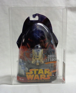2005 Star Wars Revenge Of The Sith R2-D2 Figure MOC Carded Graded AFA 8.5 FREESP