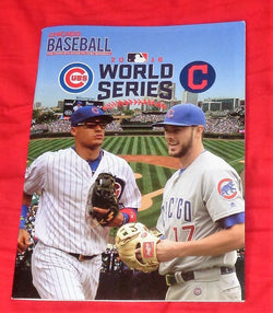2016 World Series Chicago Baseball Magazine Program Cubs vs Indians Limited