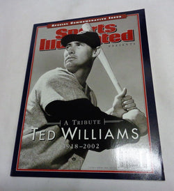 July 2002 Sports Illustrated SI HOF Ted Williams Commemorative Cover Fenway NEW