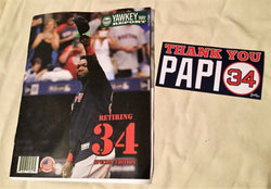 June 23rd 2017 Yawkey Way Report Red Sox Program Magazine David Ortiz Retirement