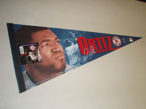 2007 Fenway Park Boston Red Sox David Ortiz Pennant Signature Series