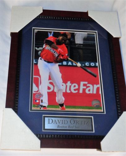 2016 Boston Red Sox David Ortiz Last Allstar Game ASG Framed Picture 13x16