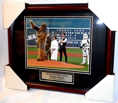 Boston Red Sox Fenway Park Star Wars May 4th Han Solo Leia Framed ...