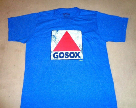 Boston Kenmore Fenway Park Citgo Sign GOSOX Blue T Shirt Size XXLarge Red Sox