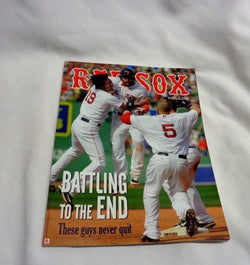 September 2013 Official Fenway Park Boston Red Sox Program Magazine Koji Uehara