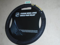 Boston Bruins Steering Wheel Cover Poly Swuede Car Truck Bourque Orr FREESHIP