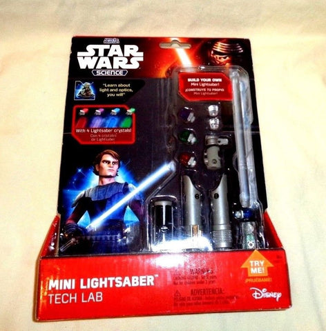 Uncle Milton Star Wars Science Mini Lightsaber Tech Lab Build Your Own FREESHIP