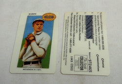 Celestial Communications HOF Christy Mathewson T206 Phone Card Collectors Digest