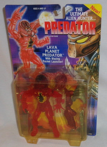 1993-Kenner-Predator-Lava-Planet-Action-Figure-Carded-MOC-Sealed-FREESHIP