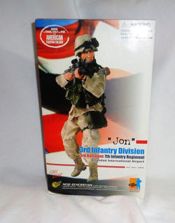 Dragon 1/6 Scale Iraq War Baghdad US Army 3rd Infantry Division Jon Doll Figure