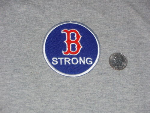 RARE Boston Red Sox Fenway Park Boston B Strong Jersey Patch US Seller FREESHIP