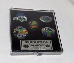 NFL 2008 Pittsburg Steelers Super Bowl 43 World Champions 5 Pin Set (A) FREESP