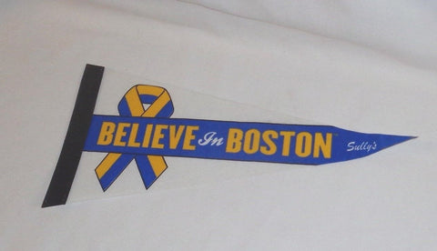 Boston Marathon Believe in Boston Our City Fenway Park Mini Pennant FREESHIP