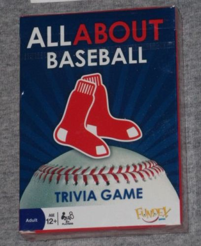 Fenway Park Boston Red Sox Trivia Game Card Set Deck Ortiz Pedroia FREESHIP