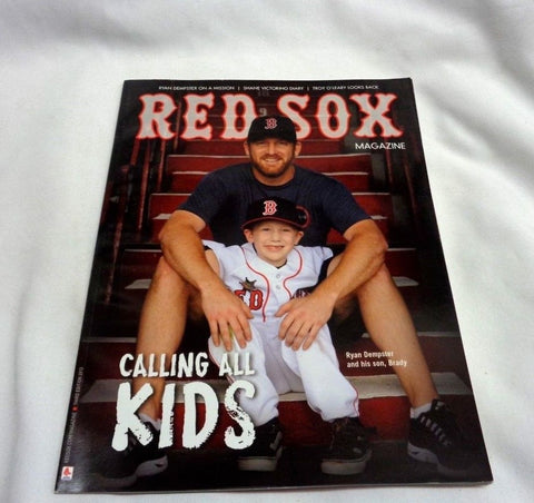 June 2013 Official Fenway Park Boston Red Sox Program Magazine Ryan Dempster
