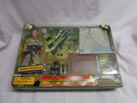 World Peacekeepers Combat Controller Air Force Figure Doll Set Boxed Sealed MINT