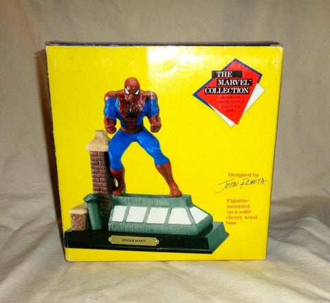 1990 Marvel Colllection Spiderman Statue Designed John Romita Boxed New FREESHIP