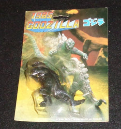 RARE Movie Version 1985 Godzilla Japanese Mini Figure MOC Sealed Carded FREESHIP