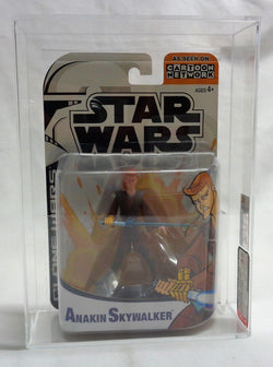 2004 Star Wars The Clone Wars Animated Series Anakin Skywalker Figure AFA 8