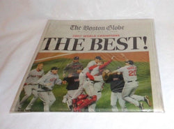 Boston Globe Newspaper Red Sox 2007 World Series Champions THE BEST October 29th