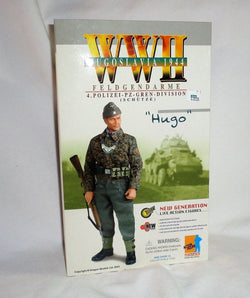 Dragon 1/6 Scale 12 Inch WWII German Feldgendarme Polizei Hugo Doll Figure