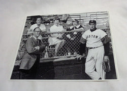 1959 Boston Red Sox Spring Training Ted Williams Meeting Family Picture 8x10