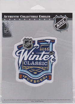 2016 Winter Classic Patch Gillette Stadium Patriots Boston Bruins Canadiens