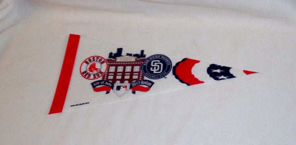 Boston Red Sox San Diego Padres July 4th 2013 Fenway Park Mini Pennant FREESHIP
