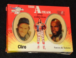 1983 Vintage Cliro Soap Collection The A Team Mr T / Murdock Boxed New Mint
