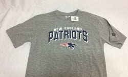Official New England Patriots Childrens Youth Kids Grey T Shirt Large 14/16 NEW