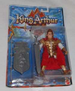 RARE 1992 Mattel King Arthur and Knights of Justice Action Figure MOC Carded