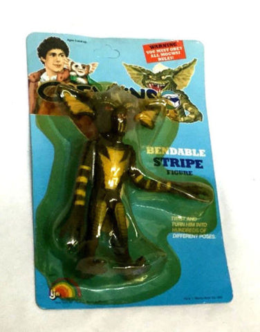 1984 LNJ Vintage Gremlins Stripe Bendable Figure 6 Inch Sealed Carded FREESHIP