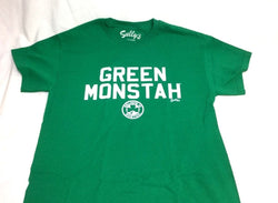 Boston Fenway Park Green Monster Monstah T Shirt Size Large Red Sox FREESHIP